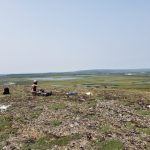 taking sUAS-based photos of the arctic tundra